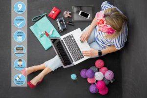 Online Shop online blogging course